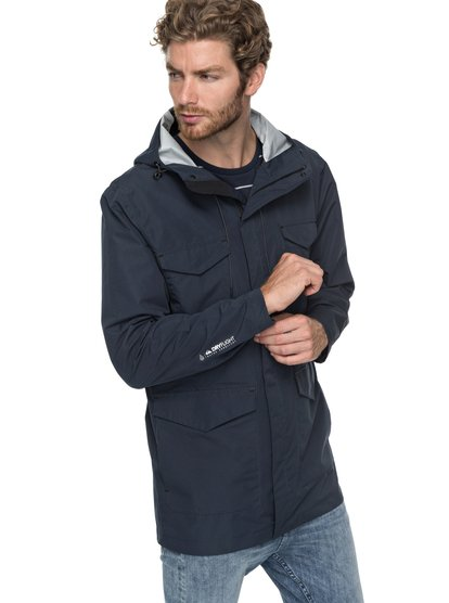 Arnet Wind - veste de pluie technique pour homme - bleu - quiksilver