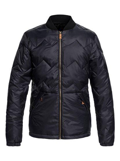 Cruiser - veste chaude déperlante pour homme - noir - quiksilver