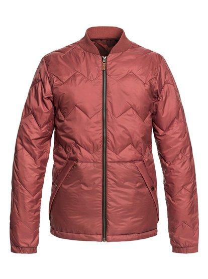 Cruiser - veste chaude déperlante pour homme - rouge - quiksilver