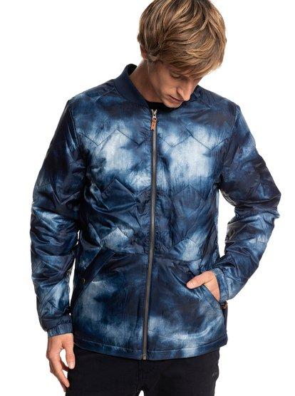 Cruiser - veste chaude déperlante pour homme - bleu - quiksilver
