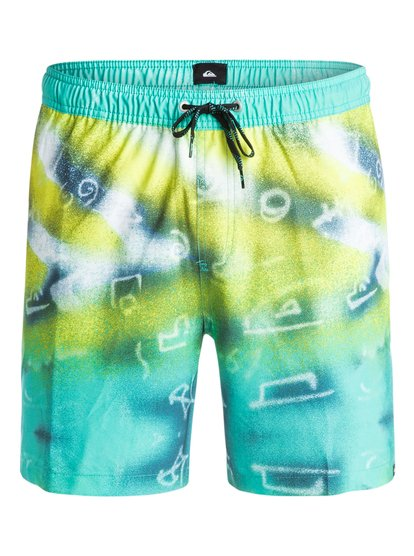 "Glitched 17"" - Swim Shorts  EQYJV03065"