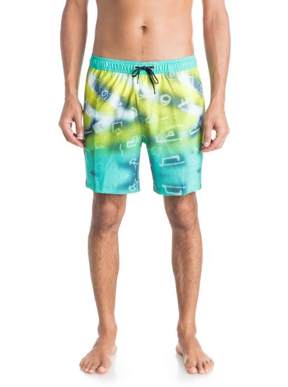 "Quiksilver Men's Glitched 17"" Volley Boardshorts"