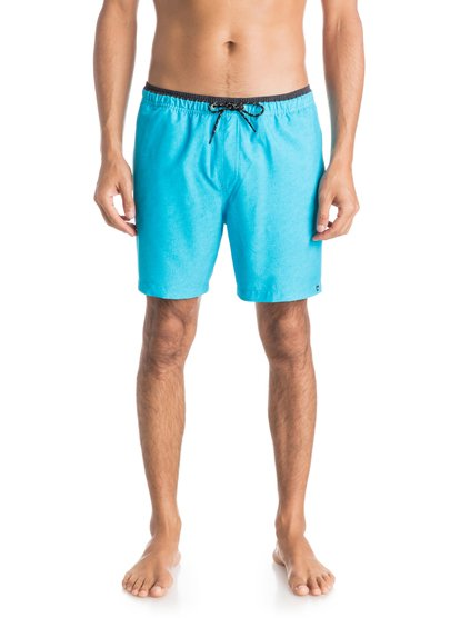 "Quiksilver Men's Fruit Bat Stretch 17"" Volley Boardshorts"