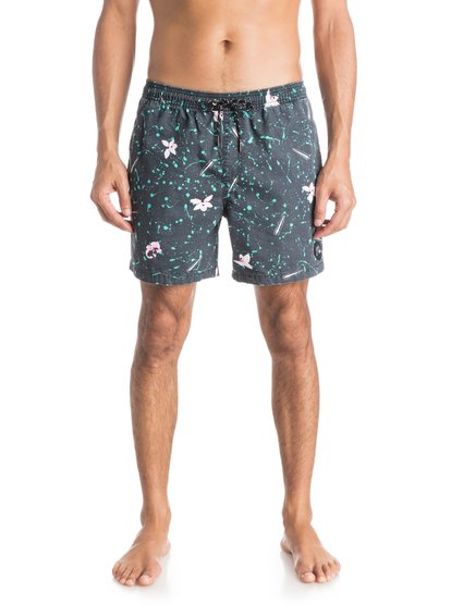 "Quiksilver Ghetto Acid 16"" Volley Boardshorts"