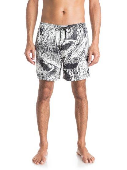 Ghetto Acid 16 Volley BoardshortsМужские пляжные шорты Ghetto Acid 16 от Quiksilver. <br>ХАРАКТЕРИСТИКИ: эластичный пояс, хлопчатобумажная саржа, длина бокового шва – 40,6 см (16), плоский прорезной задний карман на молнии. <br>СОСТАВ: 100% хлопок.<br>