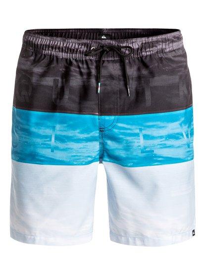 "Word Waves 17"" - Swim Shorts  EQYJV03203"