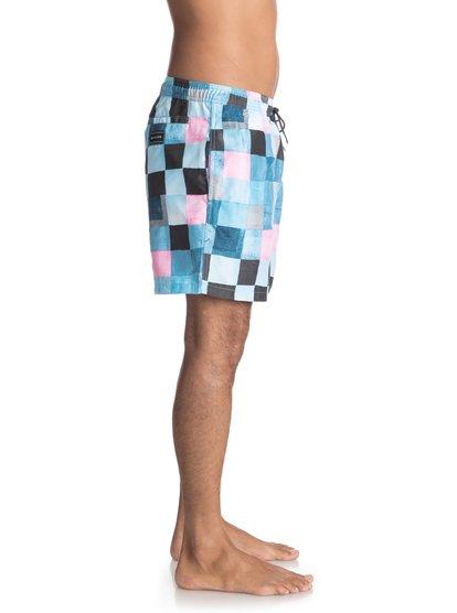 Пляжные шорты Resin Check 15 quiksilver шорты пляжные мужские quiksilver dot check
