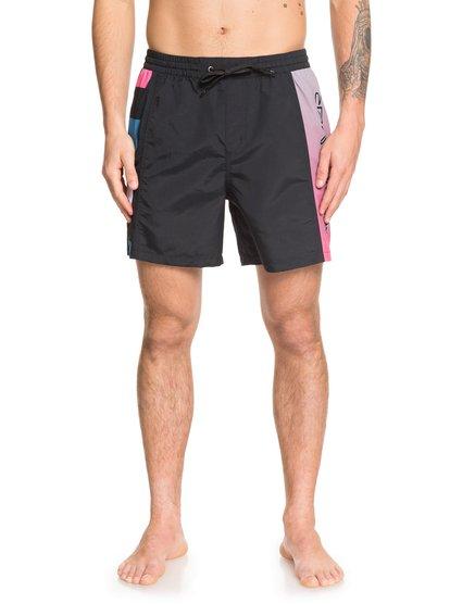 St Comp - Swim Shorts for Men - Noir - Quiksilver