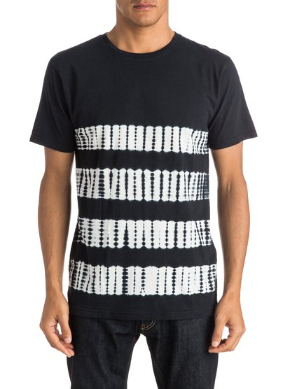 Mens Nevista T-ShirtМужская футболка Nevista от Quiksilver.ХАРАКТЕРИСТИКИ: короткие рукава, округлый вырез, легкий текстиль плотностью 140 г/кв. м, мягкое окрашивание в полоску.СОСТАВ: 100% хлопок.<br>