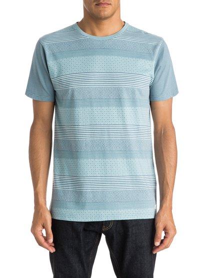 Mens Penvil T-ShirtМужская футболка Penvil от Quiksilver.ХАРАКТЕРИСТИКИ: короткие рукава, округлый вырез, натуральный трикотаж, сплошной принт.СОСТАВ: 100% хлопок.<br>