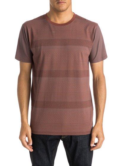 Mens Penvil T-ShirtМужская футболка Penvil от Quiksilver. <br>ХАРАКТЕРИСТИКИ: короткие рукава, округлый вырез, натуральный трикотаж, сплошной принт. <br>СОСТАВ: 100% хлопок.<br>