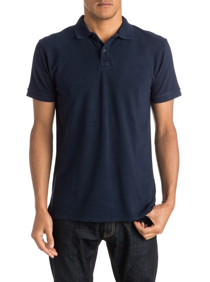 Mens Faded Ghost Polo ShirtМужская рубашка-поло Faded Ghost от Quiksilver.ХАРАКТЕРИСТИКИ: короткие рукава, пикейный хлопок, крой Modern, вышивка на груди.СОСТАВ: 100% хлопок.<br>