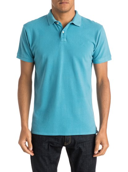 Mens Faded Ghost Polo ShirtМужская рубашка-поло Faded Ghost от Quiksilver. <br>ХАРАКТЕРИСТИКИ: короткие рукава, пикейный хлопок, крой Modern, вышивка на груди. <br>СОСТАВ: 100% хлопок.<br>