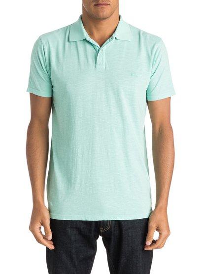 Mens Snow Cruise Polo ShirtМужская рубашка-поло Snow Cruise от Quiksilver. <br>ХАРАКТЕРИСТИКИ: короткие рукава, две пуговицы, трикотаж неровной вязки, вышивка на груди. <br>СОСТАВ: 100% хлопок.<br>