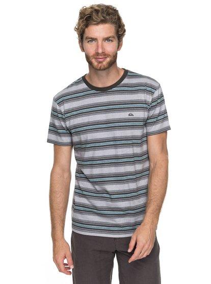 Bayo - t shirt col rond pour homme - noir - quiksilver