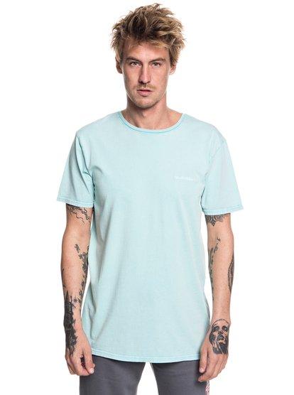 Acid Sun - t-shirt col rond pour homme - bleu - quiksilver