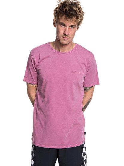 Acid Sun - t-shirt col rond pour homme - rose - quiksilver