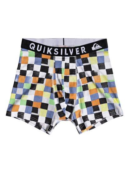 Poster - boxer pour homme - orange - quiksilver