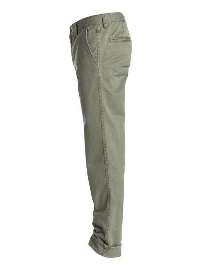 EverydayМужские брюки-чино Everyday от Quiksilver. Характеристики: прямой крой, отделка с изнанки, хлопчатобумажная саржа. <br>СОСТАВ: 100% хлопок.<br>