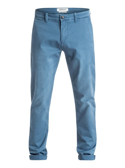 Krandy Straight Fit Tapered - Pantalon chino pour homme - Bleu - Quiksilver