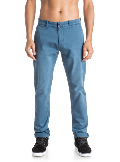Quiksilver Krandy Straight Fit Tapered Chinos