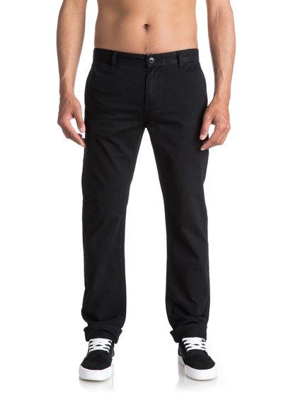 Everyday - pantalon chino pour homme - noir - quiksilver