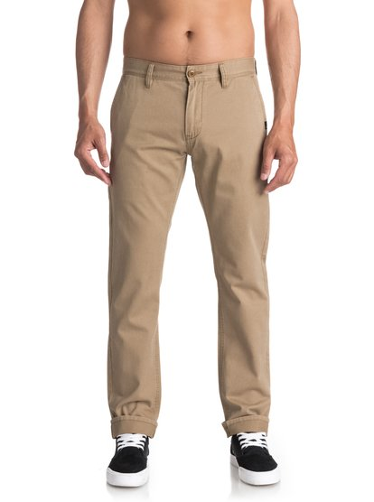 Everyday - pantalon chino pour homme - beige - quiksilver