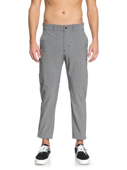Amahai - pantalon de jogging technique pour homme - gris - quiksilver