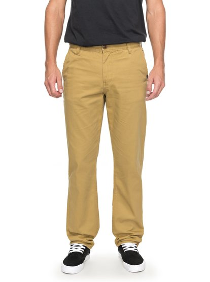Everyday Light - pantalon chino pour homme - marron - quiksilver