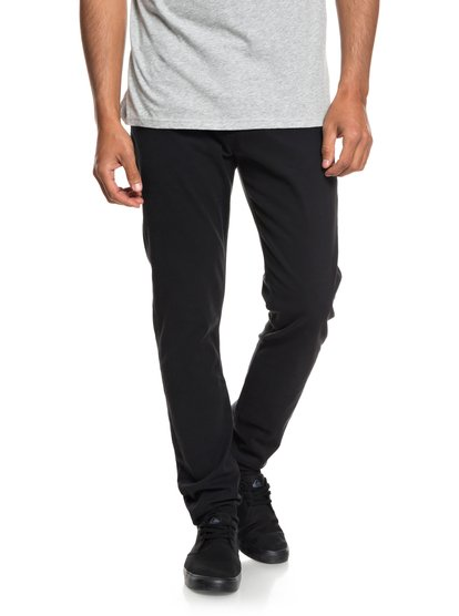 Dawn To dust - pantalon coupe slim pour homme - noir - quiksilver