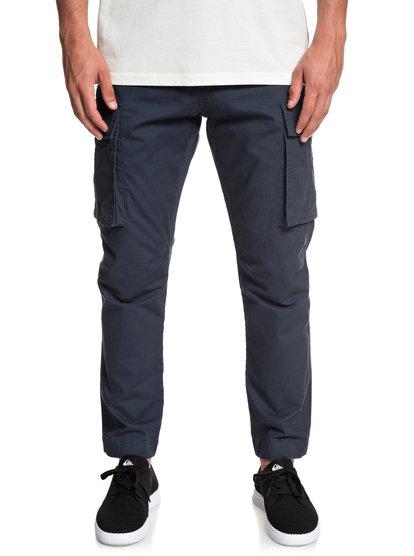 Free Mantle - pantalon cargo pour homme - bleu - quiksilver