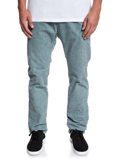 Goonsbay Smash - pantalon en velours pour homme - bleu - quiksilver