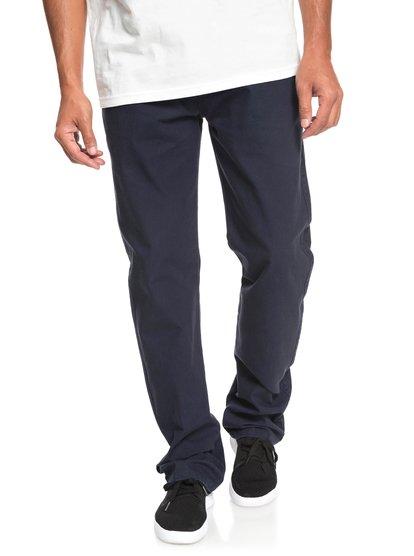 Gastelu - pantalon chino pour homme - bleu - quiksilver