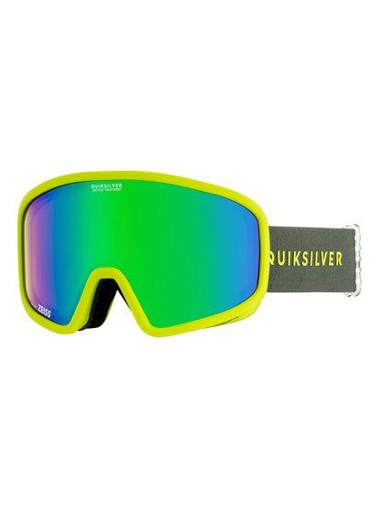 Browdy - masque de ski/snowboard pour homme - vert - quiksilver