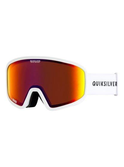 Browdy - masque de ski/snowboard pour homme - blanc - quiksilver