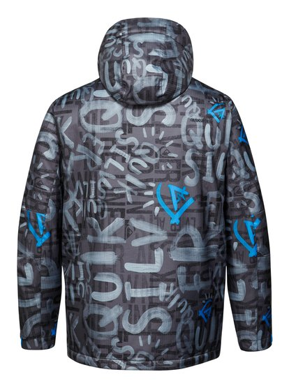 Mission Printed 10k Ins Jkt Quiksilver 8990.000