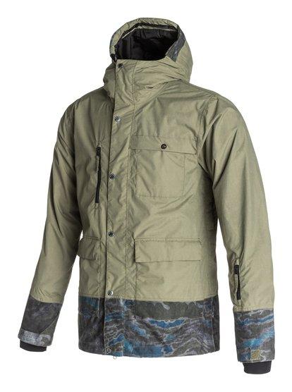 Sense - QuiksilverМужская сноубордическая куртка Sense из новой сноубордической коллекции Quiksilver. ХАРАКТЕРИСТИКИ: полностью проклеенные швы, сеточная вентиляция, капюшон с регулировкой, система прикрепления штанов к куртке, защита подбородка от натирания молнией из микрофибры. СОСТАВ: 100% нейлон.<br>