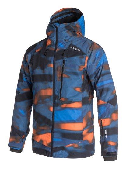 Inyo Printed 2L GORE-TEXМужская сноубордическая куртка Inyo Printed 2L GORE-TEX из новой сноубордической коллекции Quiksilver. ХАРАКТЕРИСТИКИ: полностью проклеенные швы, сеточная вентиляция, капюшон с регулировкой, система прикрепления штанов к куртке, защита подбородка от натирания молнией из микрофибры. СОСТАВ: 100% полиэстер.<br>