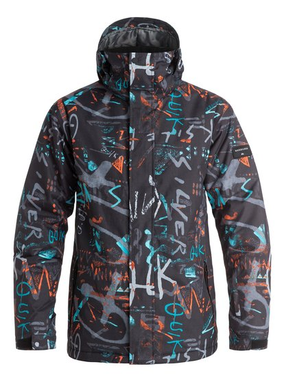Mission Printed - Snow Jacket  EQYTJ03069