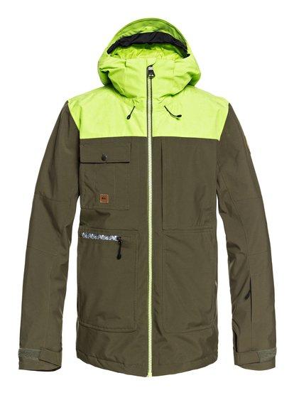 Arrow Wood - veste de snow pour homme - marron - quiksilver