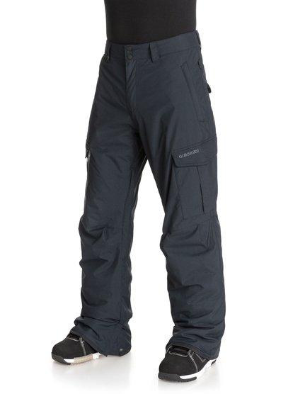 TR Mission INSМужские сноубордические штаны TR Mission INS из новой сноубордической коллекции Quiksilver. ХАРАКТЕРИСТИКИ: критические швы проклеены, сеточная вентиляция, регулировка талии, изнанка пояса из тафты с начесом, гейтеры из синтетической тафты. СОСТАВ: 100% нейлон/полиамид.<br>