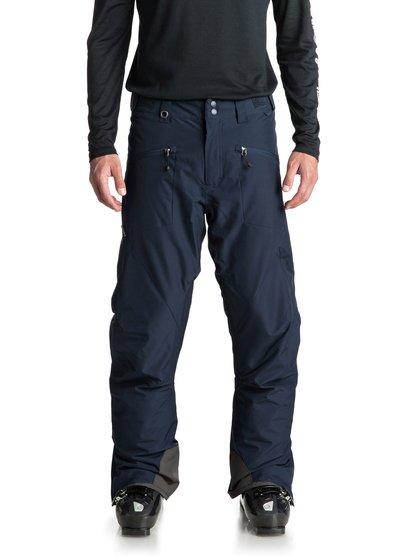 Boundry - pantalon de snow pour homme - bleu - quiksilver
