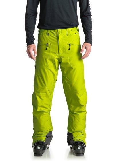 Boundry - pantalon de snow pour homme - vert - quiksilver