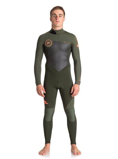 3/2mm Syncro Series - Combinaison de surf intégrale pour Homme - Marron - Quiksilver