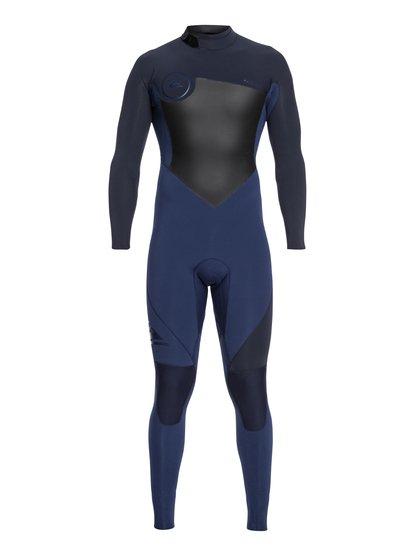 4/3mm Syncro Series - Combinaison GBS back zip pour Homme - Bleu - Quiksilver