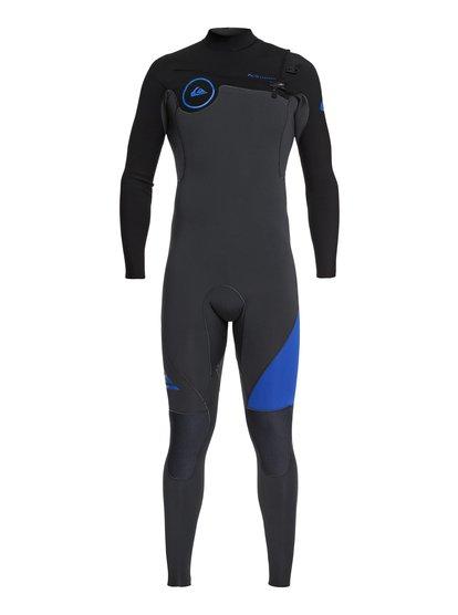 4/3mm Syncro Series - Combinaison GBS zip poitrine pour Homme - Bleu - Quiksilver