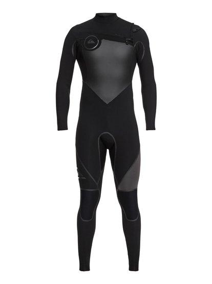 5/4/3mm Syncro plus - combinaison de surf intégrale pour homme - noir - quiksilver