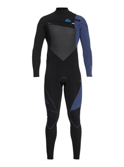4/3mm Highline Plus - Combinaison zip poitrine pour Homme - Noir - Quiksilver
