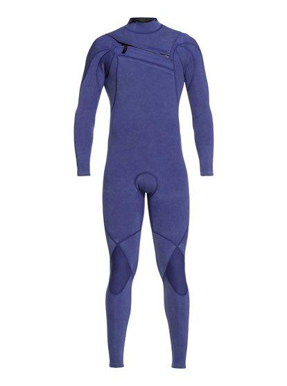 4/3mm Highline Limited Monochrome - Combinaison zip poitrine pour Homme - Bleu - Quiksilver