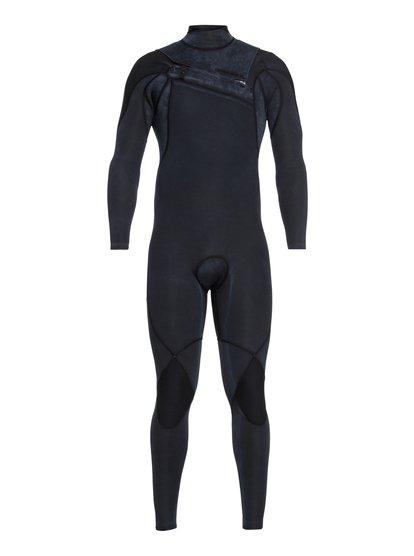 3/2mm Highline Limited Monochrome - Combinaison zip poitrine pour Homme - Noir - Quiksilver